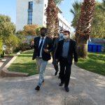 חבר הפרלמנט בסיור: (צילום דוברות בית חולים לניאדו)